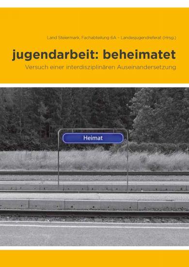 Titelseite Buch jugendarbeit:beheimatet
